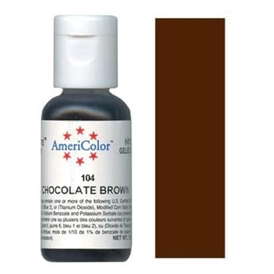 Краситель Americolor, Chocolate Brown