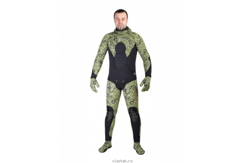 Гидрокостюм Scorpena C3 5 мм Green Camo