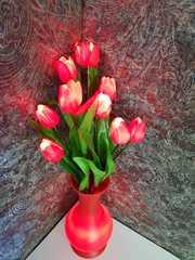 Светящийся тюльпаны