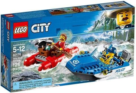 City Police Погоня по горной реке 60176