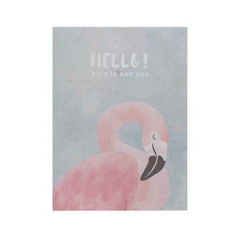Открытка Flamingo Grey