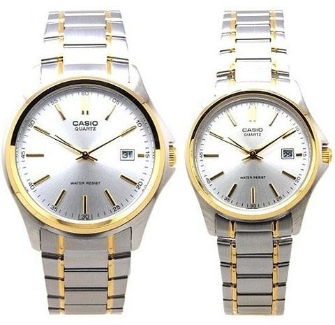 Купить Парные часы Casio Standard: MTP-1183G-7A и LTP-1183G-7A по доступной цене
