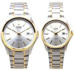 Парные часы Casio Standard: MTP-1183G-7A и LTP-1183G-7A