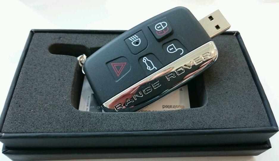 Флешка в виде ключа Range Rover