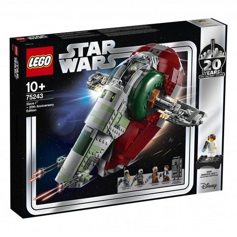 LEGO Star Wars: Слейв I: выпуск к 20-летнему юбилею 75243 — Slave I – 20th Anniversary Edition — Лего Звездные войны Стар Ворз