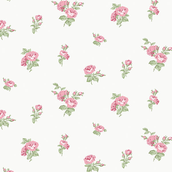 Обои Aura English Florals G34347, интернет магазин Волео