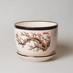Горшок керамический  арт. 9672 малый