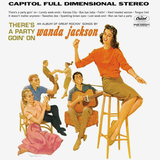 Wanda Jackson / There's A Party Goin' On (LP)