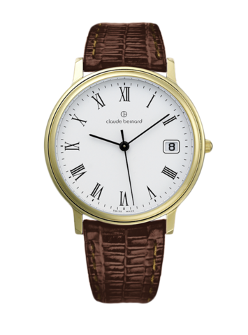 Купить мужские наручные часы Claude Bernard 70149 37J BR по доступной цене