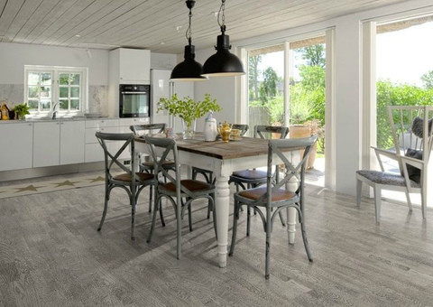 Karelia Light 3х-пол Oak Select Shadow Grey Loc