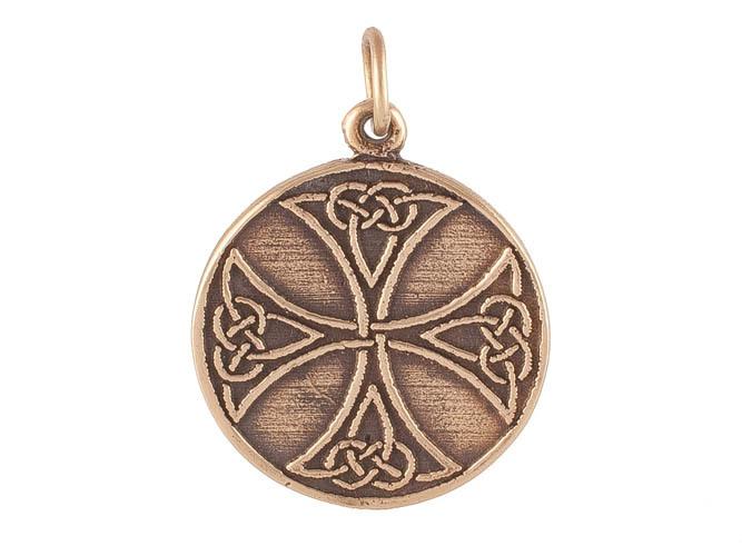 Кельтский стиль Крест тамплиеров RH-477.jpg