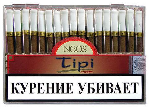 Сигариллы Neos Tipi Cherry 50 шт