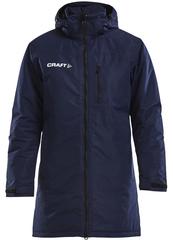 Куртка-Парка тёплая удлинённая Craft Parkas Blue мужская