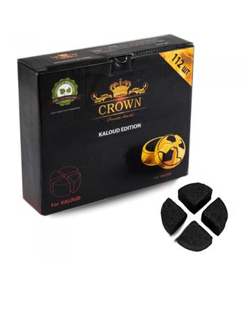 Уголь кокосовый «Crown», Kaloud (112 шт., 1 кг.)