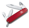 Нож Victorinox Recruit, 84 мм, 10 функций, красный