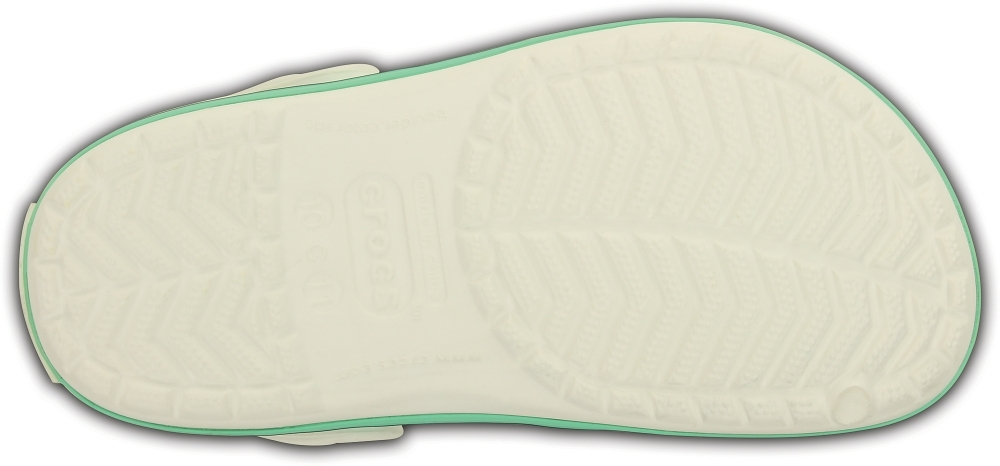 Детские сабо Crocs Crocband Kids White/New Mint