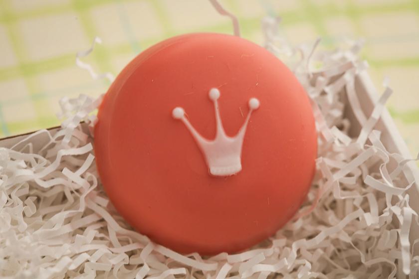 Пластиковая формочка для мыла Корона