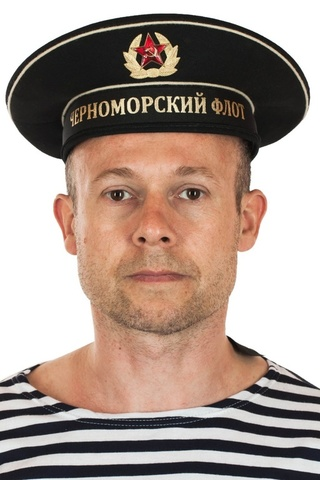 Бескозырка черная с лентой Черноморский Флот