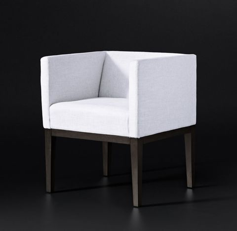 Morgan Shelter Arm Fabric Armchair