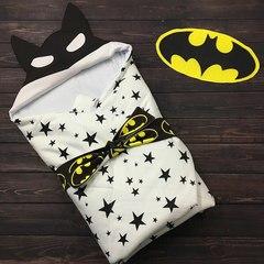 Демисезонный конверт одеяло Batman звезда