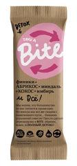 """Батончик Фруктово-ореховый """"Bite"""" Абрикос-миндаль (Детокс) 45 г"""