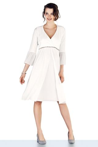 Платье для беременных 10316 белый