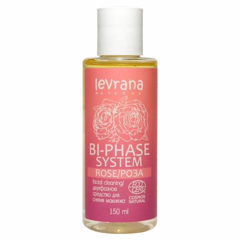 Двухфазное средство для снятия макияжа Роза, Levrana