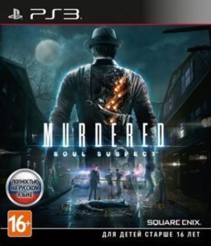 Sony PS3 Murdered. Soul Suspect (русская версия)