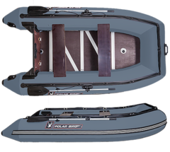 Лодка надувная Polar Bird 360 Merlin (Стеклокомпозит)