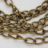Цепь (цвет - античная бронза) 8х5 мм, примерно 3 м