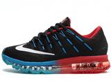 Кроссовки Мужские Nike Air Max 2016 Black Blue Red