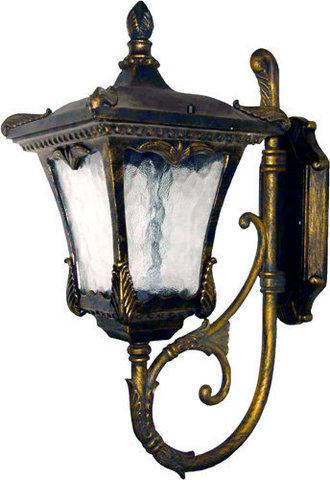 Светильник садово-парковый, 100W 230V E27 черное золото, 6003QM (Feron)