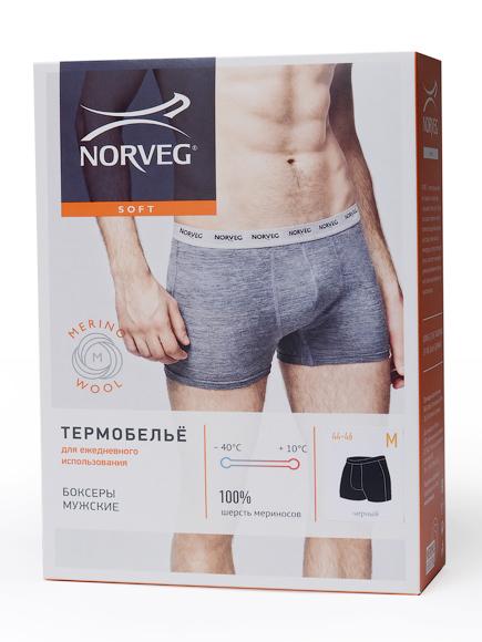 Термобелье трусы с шерстью Норвег Soft Boxer