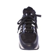 Кроссовки на меху Pertini 14147 с кристаллами