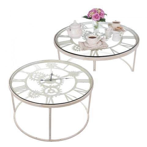 Кофейный столик-часы