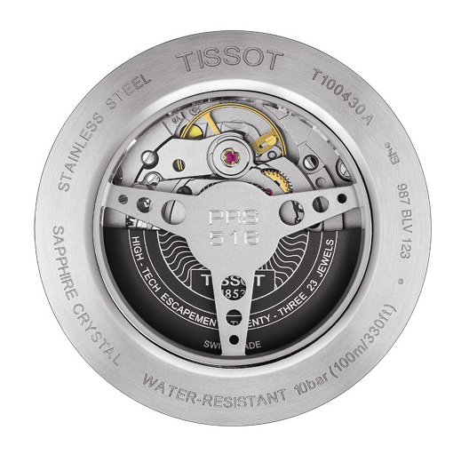 Мужские швейцарские наручные часы Tissot PRS 516 T100.430.16.041.00 Powermatic  80 0edbff48ce5