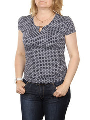 A7-8 блузка женская, темно-синяя