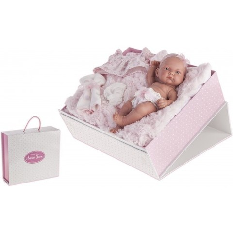 Antonio Juan. Младенец Карла в чемодане, 26 см