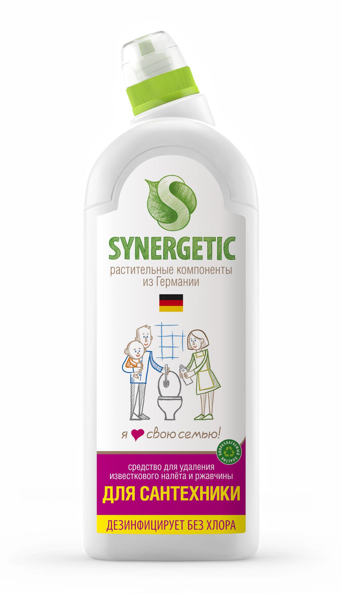 Жидкость для сантехники, SYNERGETIC, 1 л.