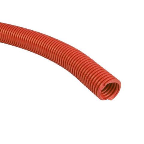 Труба гофрированная STOUT - 25 (наружный диаметр 32 мм, цвет красный, бухта 50м.)