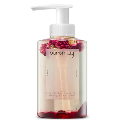 Гель для душа Puremay Crown To Toe Shower Gel Rose & Beet 400ml