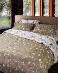 Постельное белье 2 спальное евро Casa Anversa Tudor Fiore Grigio