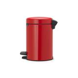 Мусорный бак newIcon (3 л), Пламенно-красный, арт. 112140 - превью 2