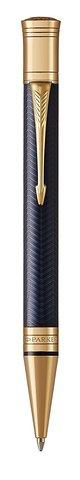 Шариковая ручка Parker  Duofold Prestige Blue Chevron GT