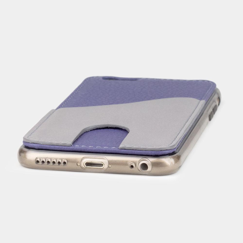 Чехол-накладка Andre для iPhone 6/6S из натуральной кожи теленка, цвета сирени