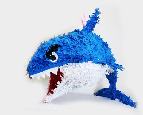 Пиньята Синяя Акула