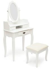 Туалетный столик NY-V3024 (с пуфом) Белый