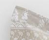 Постельное белье 1.5 спальное Mirabello Brussel серо-бежевое