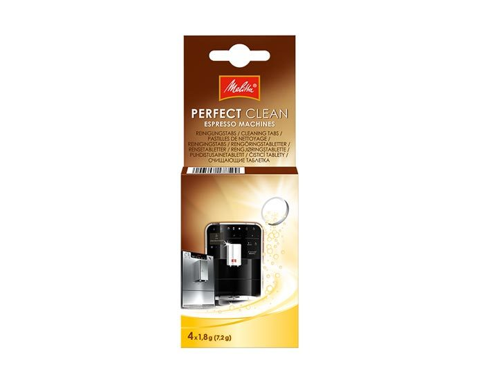 Очищающие таблетки для кофемашин Melitta Perfect Clean, 4 шт