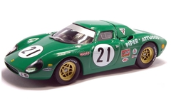 Ferrari 250 LM green 1:43 Eaglemoss Ferrari Collection #15